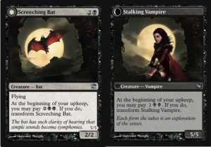 Screeching Bat / Stalking Vampire