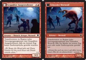 Tormented Pariah / Rampaging Werewolf