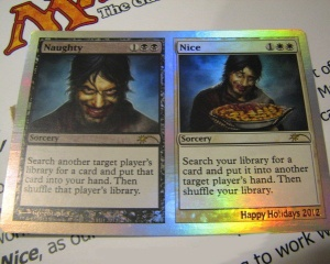 Magic the Gathering Holiday cards